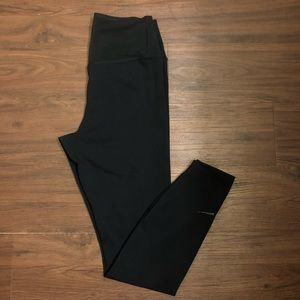 Dri-fit Nike Black Full Length Leggings